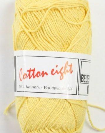 Cotton Eight Haakgaren Haakkatoen Geel. 100% katoen