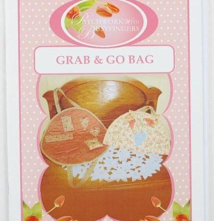 Sue Daley Tassenpatroon Grab and Go Bag Bag Tas