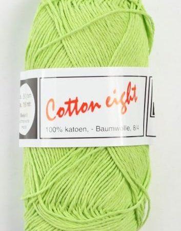 Cotton Eight Haakgaren Haakkatoen Appelgroen. 100% katoen