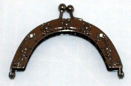 Beugel voor een kleine tas of een portemonnee bronskleurig
