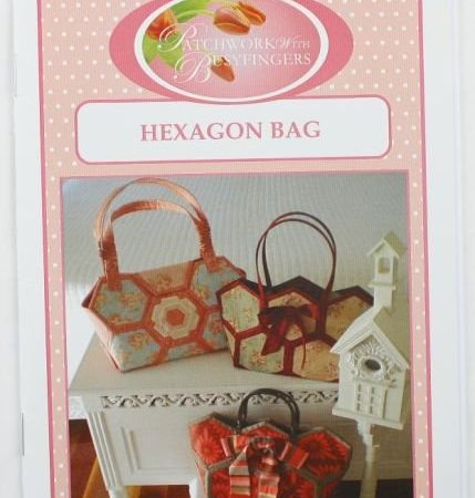 Sue Daley Tassenpatroon Hexagon Bag