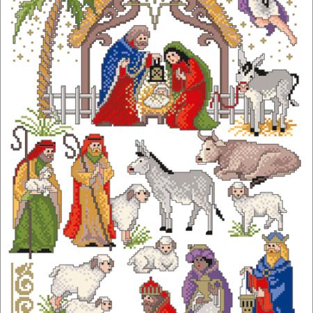 Kerst borduurpatronen