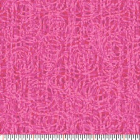 Quiltstof katoen Paula Nadelstern Extreme Colors serie 22 roze