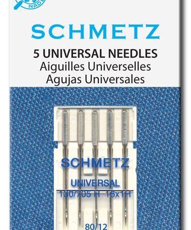 Schmetz Naaimachinenaalden universeel 130/705 H 15x1 H 80/12