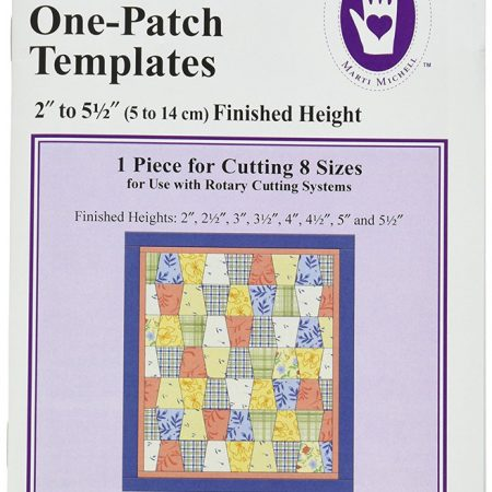 Templates Marti Michell. One-derful One-Patch Templates Tumbler 8204