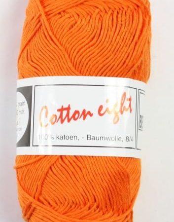 Cotton Eight Haakgaren Haakkatoen Oranje. 100% katoen