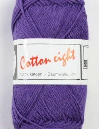 Cotton Eight Haakgaren Haakkatoen Paars. 100% katoen