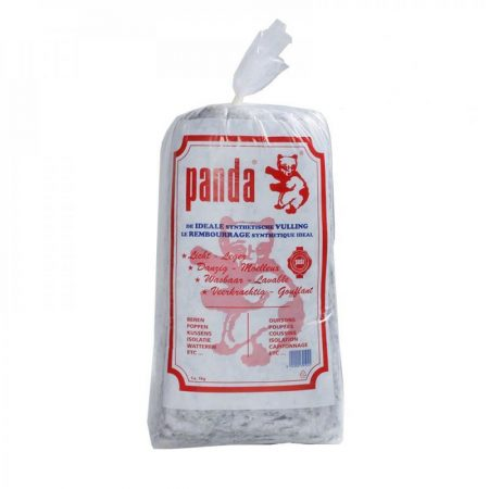 Panda acryl vulling wit. Wasbaar in wasmachine met wolwas programma