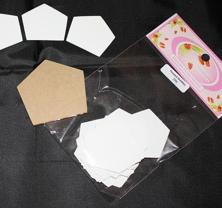 Sue Daley Paper Piecing + Kunststof mal Thimbles Pointed 1 inch