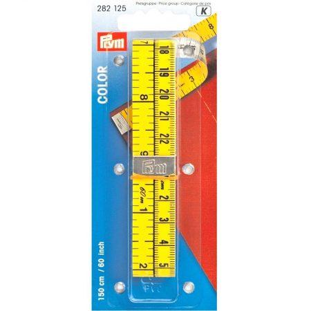 Prym 282125 Centimeterband color. Lengte is: 150 centimeter en 60 inch