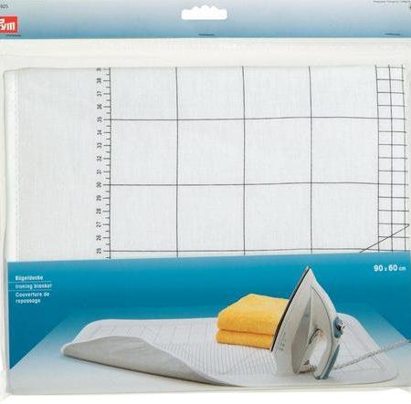Prym 611926 Strijk onderlegger. Opdruk centimeter raster