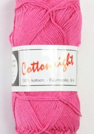 Cotton Eight Haakgaren Haakkatoen Roze. 100% katoen