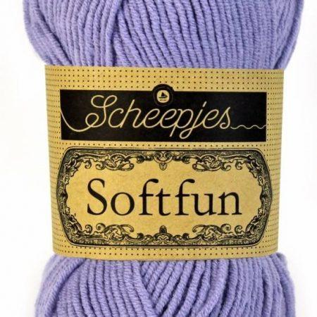 Scheepjes Brei- en haakgaren Softfun lavendel 2519