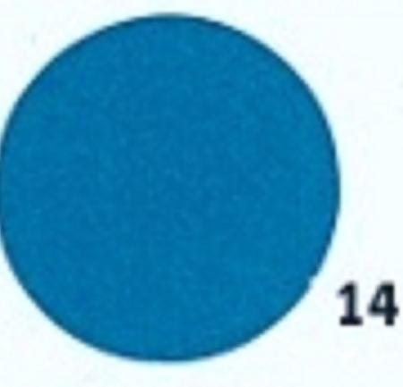 Hobbyvilt Lap Blauw Kleurnummer 14. Afmetingen: 20 x 30 cm