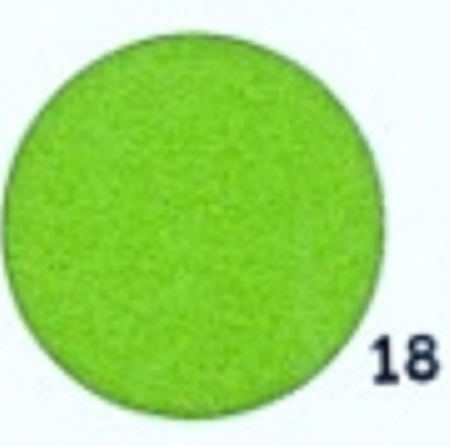 Hobbyvilt Lap Groen Kleurnummer 18. Afmetingen: 20 x 30 cm
