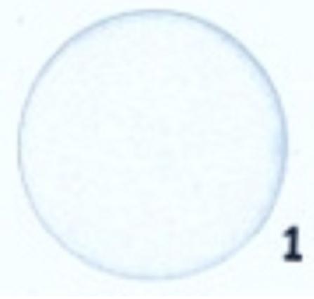Hobbyvilt Lap Wit Kleurnummer 1. Afmetingen: 20 x 30 cm