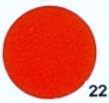 Hobbyvilt Lap Rood Kleurnummer 22. Afmetingen: 20 x 30 cm
