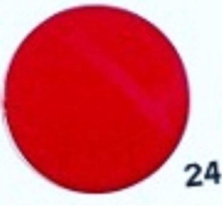 Hobbyvilt Lap Rood Kleurnummer 24. Afmetingen: 20 x 30 cm