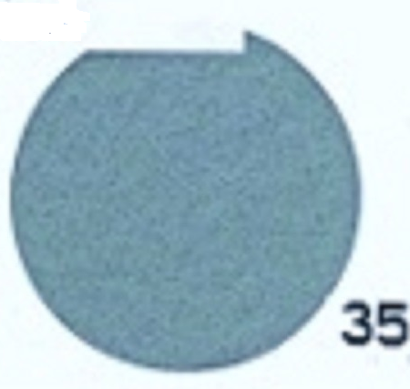Hobbyvilt Lap Blauwgrijs Kleurnummer 35. Afmetingen: 20 x 30 cm