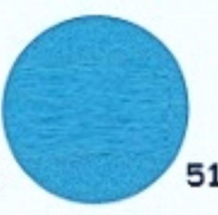 Hobbyvilt Lap Aqua Blauw Kleurnummer 51. Afmetingen: 20 x 30 cm