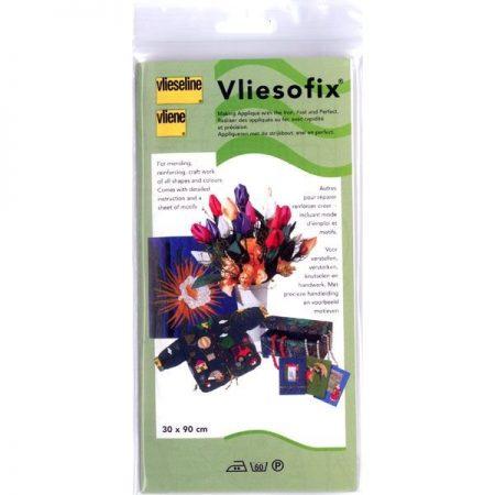 Vlieseline Vliesofix voorverpakt. De Vliesofix is wasbaar tot 60 graden.