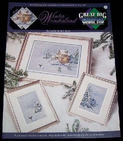 True Colors Borduurpatroon Winter Wonderland 20041