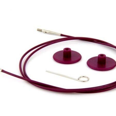 Kabel van KnitPro. Universeel te gebruiken voor alle KnitPro naaldpunten