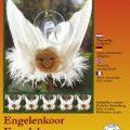 Viltpakket van De Witte Engel. Compleet. Vijf engelen. Een engelenkoor