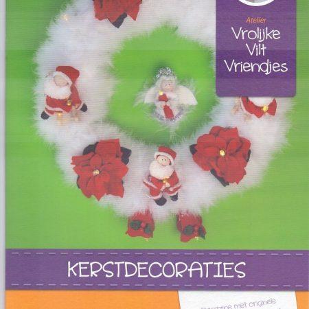 Magazine Kerstdecoraties. Originele patronen en Nederlandse beschrijving