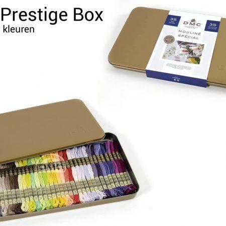 DMC Mouliné Special Prestigebox. Borduurgaren. Met 35 nieuwe kleuren