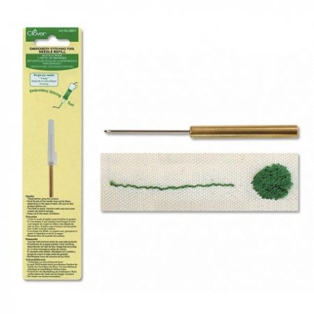 Punchnaald refill navulling Embroidery Stitching Tool. Clover 8801
