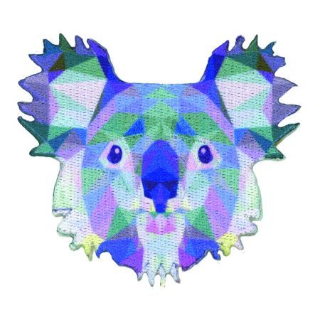 Strijkapplicatie koala prisma 36013. Afmeting: 7,5 x 7,5 cm