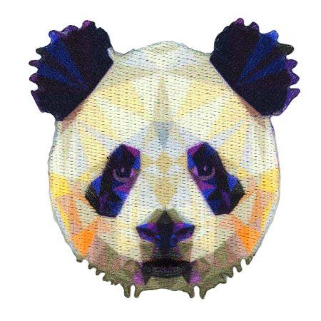 Strijkapplicatie panda prisma 36014. Afmeting: 6,5 x 7 cm
