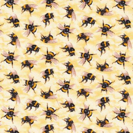 Quiltstof katoen Bijen 120-13851. Paintbrush Studio. Serie: You Bug Me