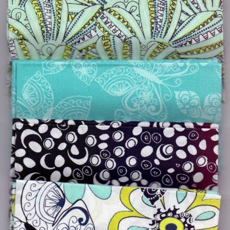 Fat quarter quiltstofpakket Lanoma. Merk: Fabric Palette. Stofpakket.