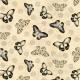 Quiltstof. Katoen. Wilmington Prints. Serie: Shantrell. Onderwerp: Vlinders