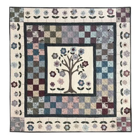 Quiltpatroon. Lynette Anderson Designs. Cherry Tree Quilt