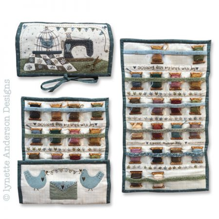 Patroon. Lynette Anderson Designs. Patroon voor My Floss Organiser