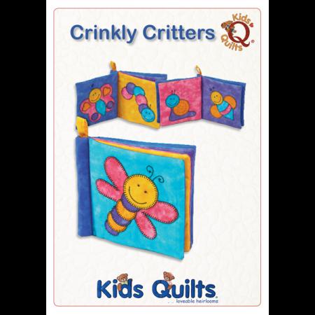Quiltpatroon van Kids Quilts. Onderwerp: Een speelboek voor kinderen.