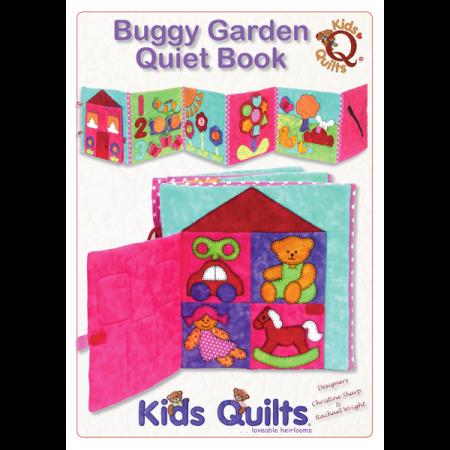 Quiltpatroon van Kids Quilts. Onderwerp: Een speel boek voor kinderen.