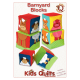 Quiltpatroon van Kids Quilts. Onderwerp: Stapelblokken voor kinderen.