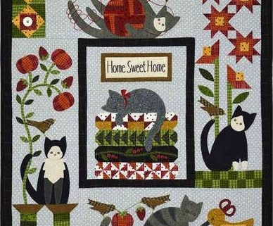 Quiltpatronen van het merk All Through The Night van Bonnie Sullivan