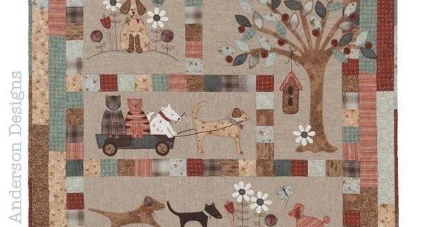 Quiltpatronen van het Australische merk Lynette Anderson Designs