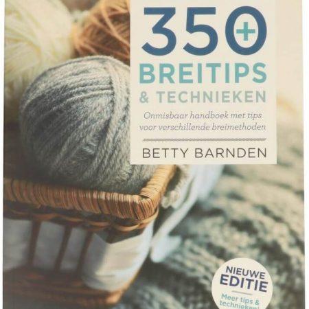 Patronenboek: 350 Breitips & Technieken. Schrijfster: Betty Barnden