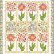 Gratis quiltpatroon Simply Beauty. Voor een mooie zomerse quilt