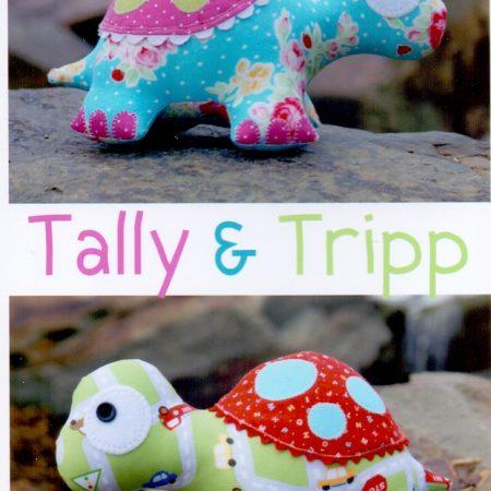 Melly & Me naaipatroonM093. Tally & Tripp. Een prachtige schildpad.