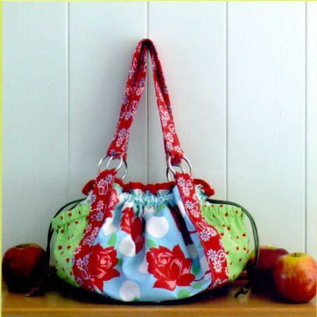 Melly & Me naaipatroon M037. Toffee Apple. Maken van een mooie tas.