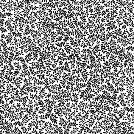 Fat quarter Kanvas 7797 Packed Ferns. Ideaal als basisstof te gebruiken