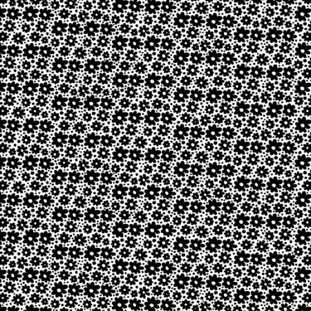 Fat quarter Kanvas 7810 Daisy Dots. Ideaal als basisstof te gebruiken
