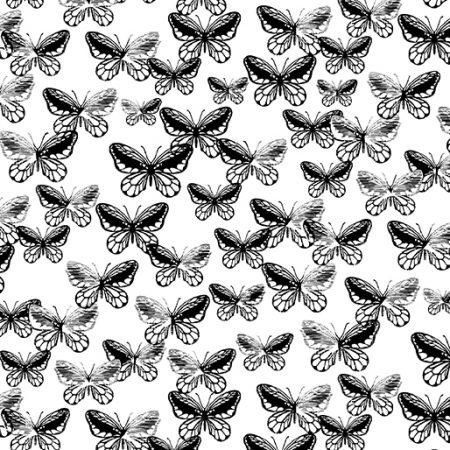 Fat quarter Kanvas 7811 Tonal Butterflies. Ideaal als basisstof te gebruiken